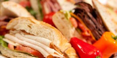 Campus Catering Sandwiches